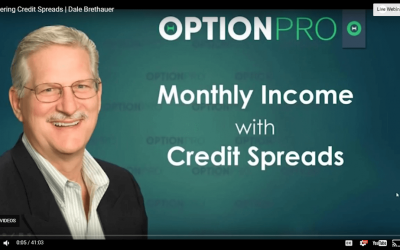 Live Webinar | Income Spreads with Options