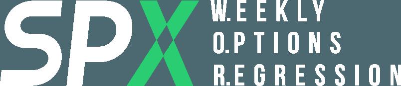 SPX W.O.R. - Weekly Options Regression
