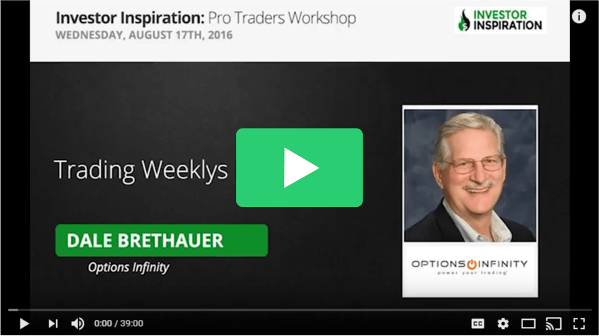 Weekly options trading webinar