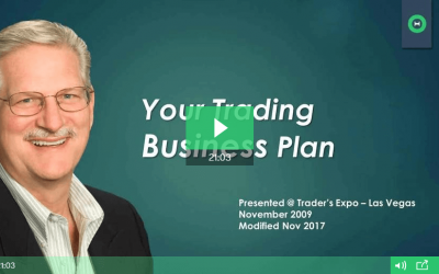 Create a Trading Business Plan: Part 1