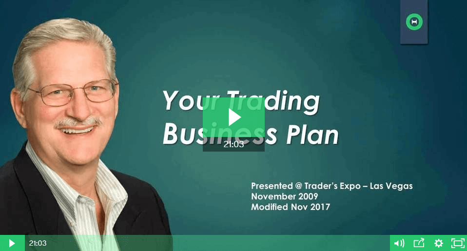 Creating your Trading Business Plan - Module 1