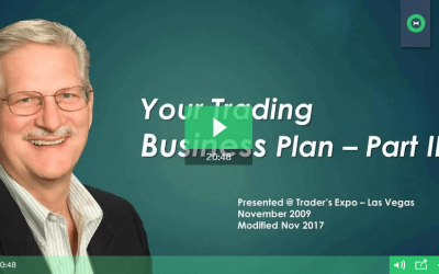 Create a Trading Business Plan: Part 3