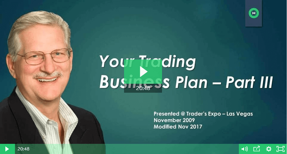 Options trading business plan