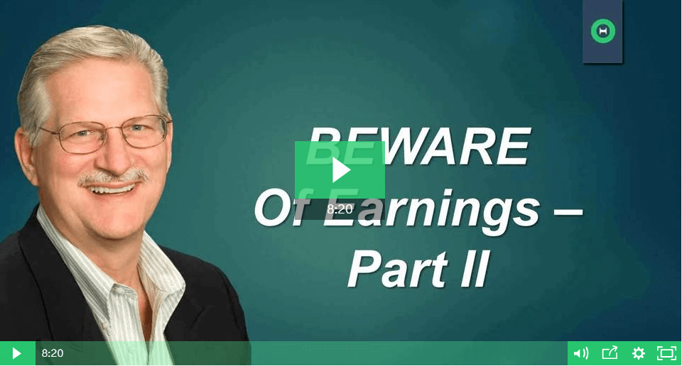 Beware of Earnings - The Reality of Trading Earnings with Options - Part 2