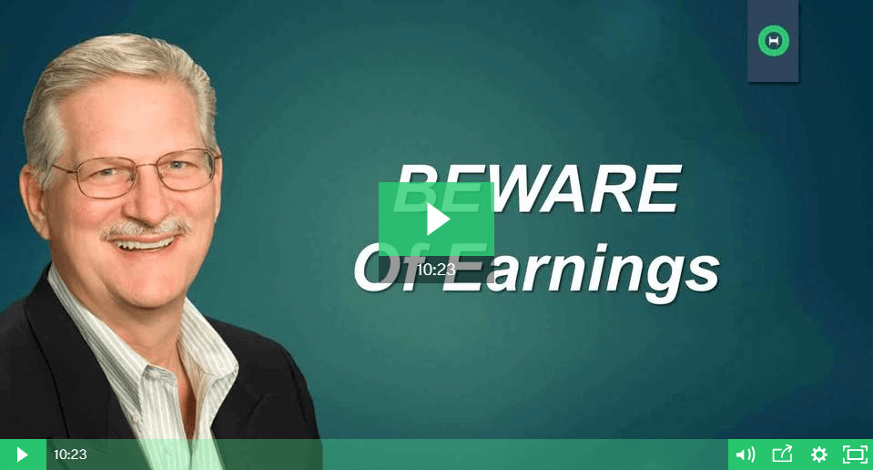 Beware of Earnings - The Reality of Trading Earnings with options - Part 1