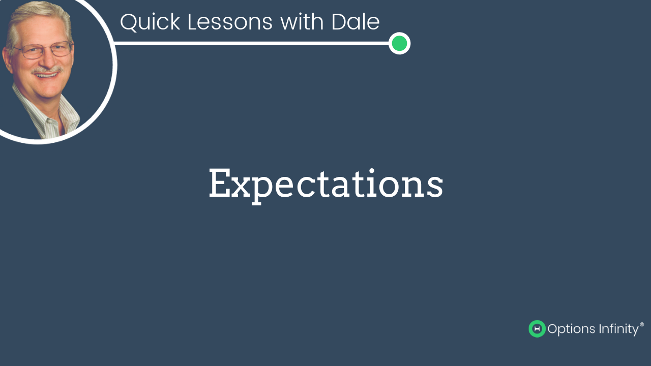 Quick Lessons - Expectations